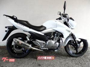 スズキ/GSR250 2012年モデル ヨシムラスリップオンマフラー リアキャリア付
