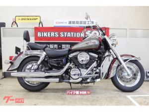 カワサキ/バルカン1500クラシック エンジンガード バックレスト タコメーター