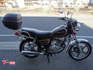 スズキ/GN125-2F  ジビリアボックス付