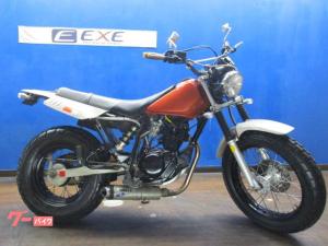ヤマハ/TW200E ホワイトブロスマフラー・スカチューン・ワイドハンドル