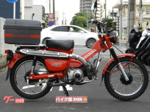 ホンダ/CT110 2006年モデル リアボックス