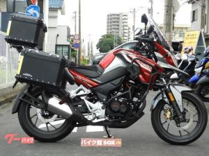 ホンダ/CB190X 2019年モデル ナビ ドラレコ Fサイドパイプ エンジンガード