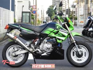 カワサキ/KSR110 2007年モデル 社外マフラー 社外クラッチキット アンダーカウル