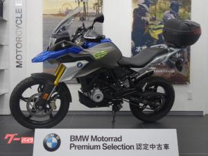 BMW/G310GS 社外マフラー 純正トップケース ETC2.0
