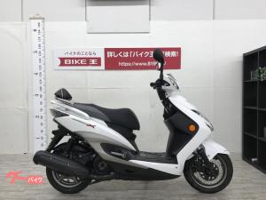 ヤマハ/シグナスX SR バックレスト装備