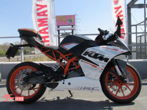 KTM/RC250 ABS 1オーナー シートバッグ