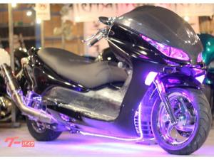 ホンダ/フォルツァ・ZロンホイET製カーボンチョップフェイス七色RGBLEDフルカスタム