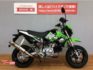 カワサキ/KSR110 ノジママフラー装備