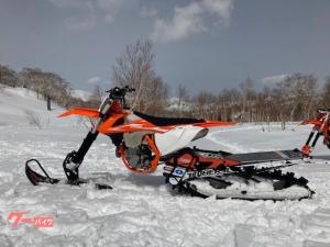 スノーバイク/450SX-F/ARO129 S