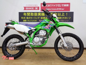 カワサキ/KLX250 ファイナルエディション 2016年モデル リアキャリア装備