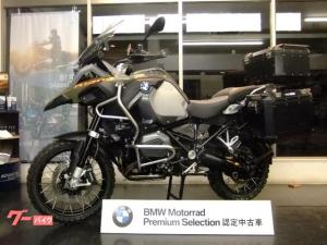 BMW/R1200GSアドベンチャー アルミケース3点&ナビ付 BMW認定中古車