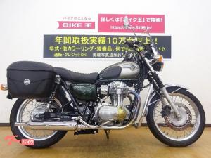 カワサキ/W800 サイドパニアケース スクリーン グリップヒーター
