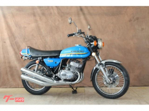 カワサキ/350SS 73年式 BLUE MACH