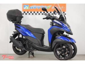 ヤマハ/トリシティ155 ABS ロングスクリーン ナックルガード グリップヒーター リアボックス