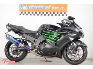 カワサキ/Ninja ZX-14R ABS ETC BEETマフラー リアフェンダーレス  ハンドル変更