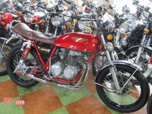 ホンダ/CB400F(398cc)キャンディーレッド・スポーク新品張替え・398登録車