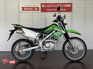 カワサキ/KLX125 ナックルガード リアキャリア