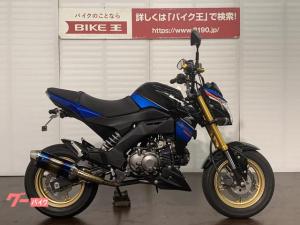 カワサキ/Z125PRO アクラボマフラー フェンダーレス