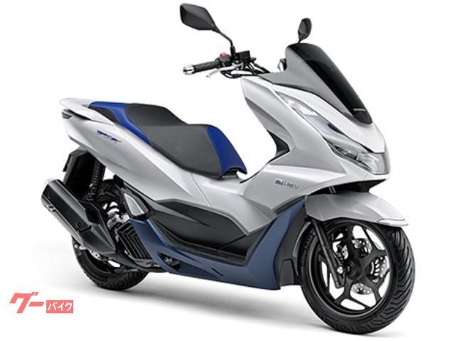 ホンダ PCX e:HEV 国内最新モデル ホワイトの画像(千葉県