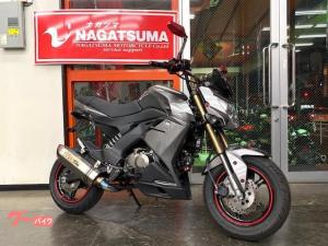 カワサキ/Z125PRO  OVERフルエキ・スクリーン・フェンレス・