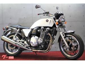 ホンダ/CB1100 パールミルキーホワイト セミアップハンドル セキュリティアラーム
