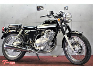 スズキ/ST250Eタイプ キック付きモデル ノーマル ブラック ヨーロピアンストリート