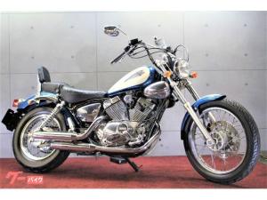 ヤマハ/ヤマハ XV250ビラーゴS 最終型 青白 タンデムバックレスト アップタイプハンドル