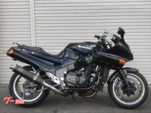 カワサキ/ZZ-R1100 バックステップ ワイバーンフルエキ FCR