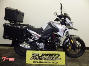ホンダ/CB190X ABS パニアトップケース標準装備  ホワイト