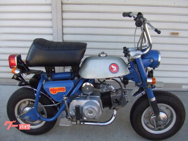 ホンダ モンキーA型両手ブレーキの画像(山梨県