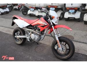 ホンダ/XR100 モタード HD13 マフラー 赤白