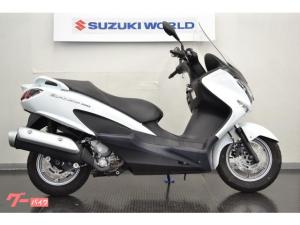 スズキ/バーグマン200 ホワイト 予備キー付属