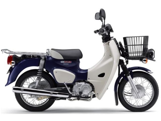 ホンダ スーパーカブ110プロ 国内現行モデル セイシェルナイトブルーの画像(千葉県