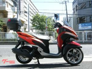 ヤマハ/トリシティ125 FI ABS リアBOX