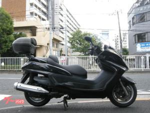 ヤマハ/グランドマジェスティ400 ロングスクリーン ブラック