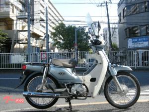 ホンダ/スーパーカブ110 PGM-FI JA10 グリップヒーター Fスクリーン センターキャリア エンジンガード