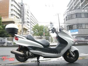 ヤマハ/マジェスティC リアBOX 五連メーター ホワイト