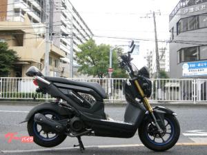 ホンダ/ズーマーX PGM-FI JF52 インジェクション タンデムバー ブラック 110cc 原付二種