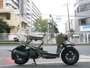 ホンダ/ズーマー 原付スクーター カムフラージュグリーン 4サイクル ネイキッドスクーター