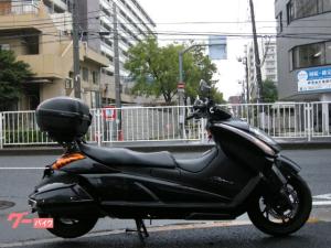 スズキ/ジェンマ Fi バックレスト フルフラット2シーター ブラック リアBOX