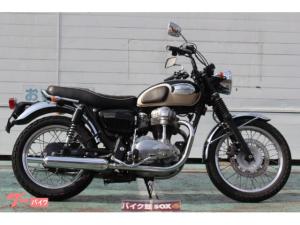 カワサキ/W650 グラブバー装備