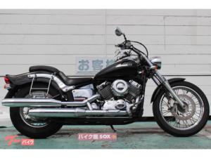 ヤマハ/ドラッグスター400 バッグサポート装備