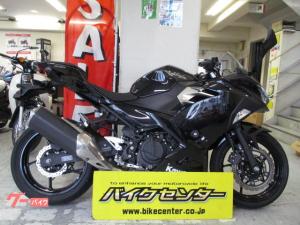カワサキ/Ninja 400 ABS付 フレームスライダー付き ブラック 2018年式 EX400G