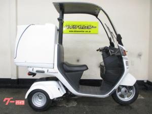 ホンダ/ジャイロキャノピー 2011年モデル インジェクション 大型リアボックス付き