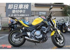 カワサキ/Z650 リアキャリア装備