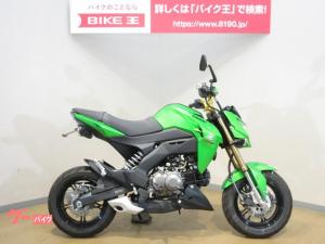 カワサキ/Z125PRO フェンダーレス カスタムレバー タケガワハンドル