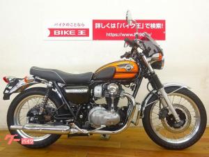カワサキ/W800 スクリーン エンジンガード装備