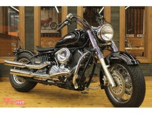 ヤマハ/ドラッグスター1100クラシック 2007年モデル スラッシュカットマフラー
