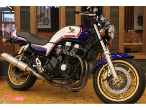 ホンダ/CB750-2 アサヒナレーシングマフラー モリワキバックステップ