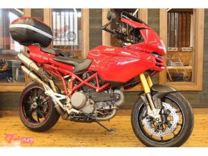 DUCATI/ムルティストラーダ1100S 2009年 赤キー コードカード マルケジーニホイール キャリアボックス付